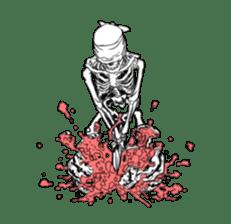 just bones8 sticker #10782426