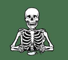 just bones8 sticker #10782429