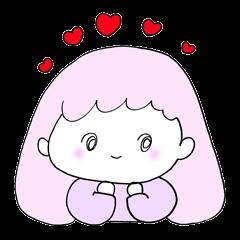 Lovely pastel girls