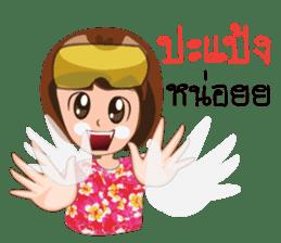Songkran day sticker #10784035
