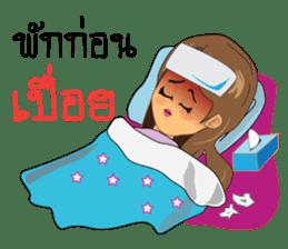 Songkran day sticker #10784045