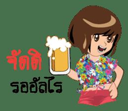 Songkran day sticker #10784062
