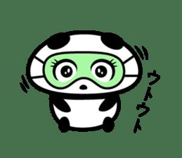Cheeky Panda? sticker #10784810