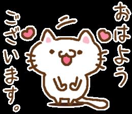 Little Cat Greetings sticker #10785616