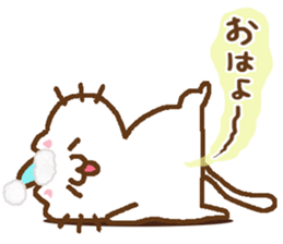 Little Cat Greetings sticker #10785618