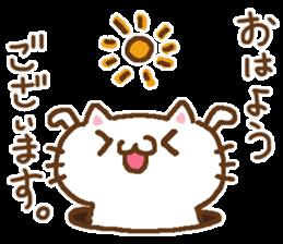 Little Cat Greetings sticker #10785619