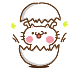 Little Cat Greetings sticker #10785621