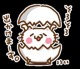 Little Cat Greetings sticker #10785622