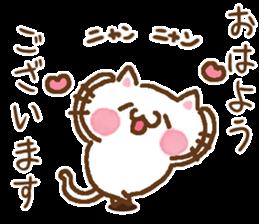 Little Cat Greetings sticker #10785628