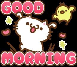 Little Cat Greetings sticker #10785629