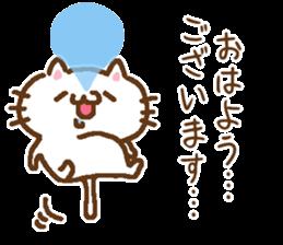 Little Cat Greetings sticker #10785630