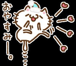 Little Cat Greetings sticker #10785638