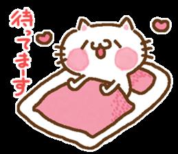 Little Cat Greetings sticker #10785642