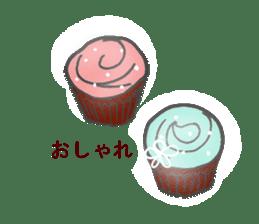 Pretty sweets sticker sticker #10785756