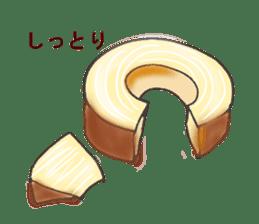 Pretty sweets sticker sticker #10785761