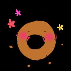 ドーナツくん3(挨拶)