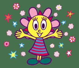 """Sunny Funny """"PaRappa The Rapper"""" sticker #10800736"""