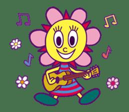 """Sunny Funny """"PaRappa The Rapper"""" sticker #10800743"""