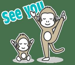 YOGA MONKEY OJAS sticker #10806765