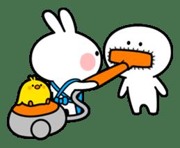 "Spoiled Rabbit ""Apron"" sticker #10819705"