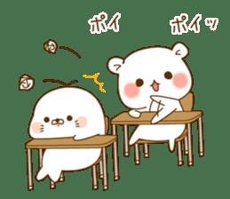 Vulgar bear schoolversion sticker #10828473