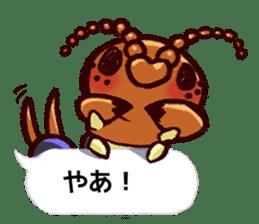 Kumo & Mukade Sticker sticker #10830624