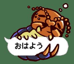 Kumo & Mukade Sticker sticker #10830625
