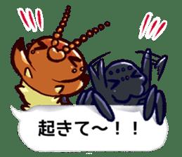 Kumo & Mukade Sticker sticker #10830627