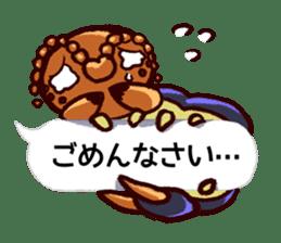 Kumo & Mukade Sticker sticker #10830628