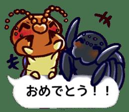 Kumo & Mukade Sticker sticker #10830631