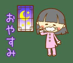 Lingling of China dress sticker #10836058