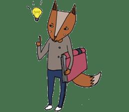 Jamie The Fox Company sticker #10837424