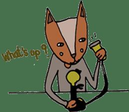 Jamie The Fox Company sticker #10837425