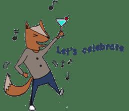 Jamie The Fox Company sticker #10837429