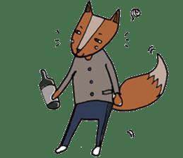 Jamie The Fox Company sticker #10837430