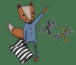 Jamie The Fox Company sticker #10837434
