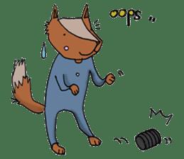 Jamie The Fox Company sticker #10837435