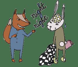 Jamie The Fox Company sticker #10837451