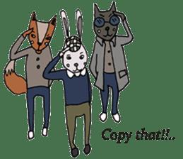Jamie The Fox Company sticker #10837455
