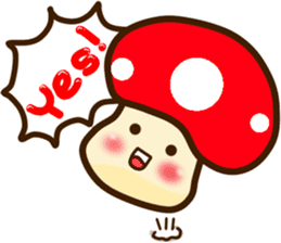 Mushroomee sticker #10837866