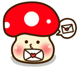 Mushroomee sticker #10837875