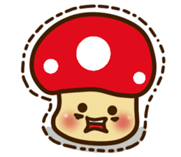 Mushroomee sticker #10837882
