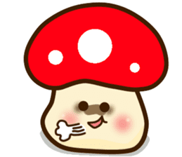 Mushroomee sticker #10837886