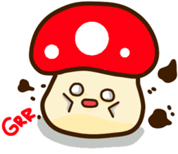Mushroomee sticker #10837887
