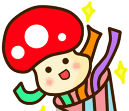 Mushroomee sticker #10837891