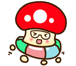 Mushroomee sticker #10837898