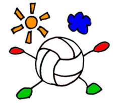 Volleyball 1. sticker #10841064