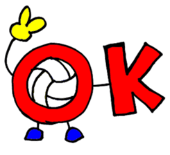 Volleyball 1. sticker #10841066