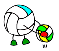 Volleyball 1. sticker #10841075