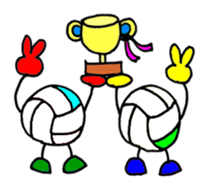 Volleyball 1. sticker #10841080